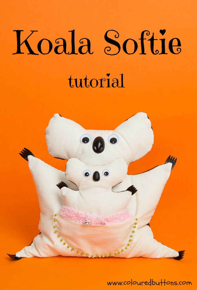 koala softie kids tutorial