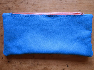 simple hand sewn pencil case