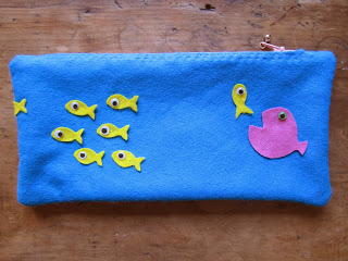 sew an easy and cute pencil case