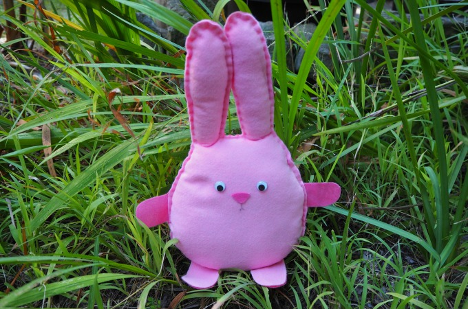 Sew an Easter Bunny with the Kids