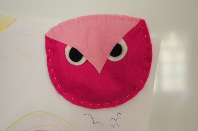 DIY Back-to-School Owl Locker Magnet