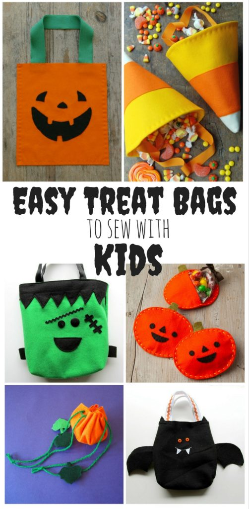Easy Treat Bags to Make with Kids