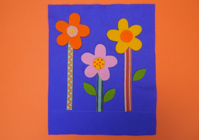 spring flower bag kids can sew