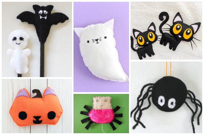 Halloween softie projects to sew